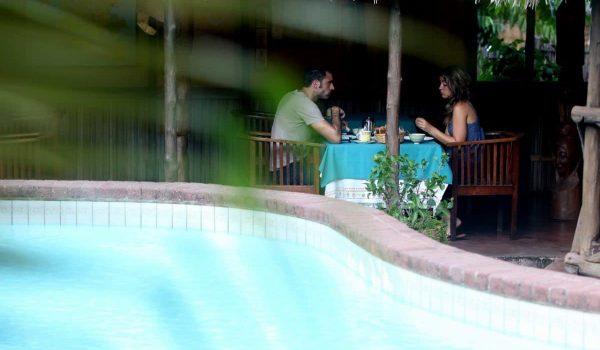 Bungalows avec piscine à Nosy Be