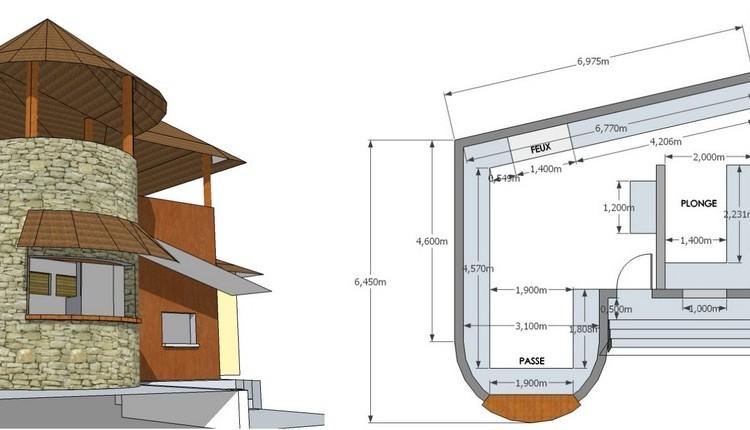 Plan du restaurant Nosy Ben à Nosy Be